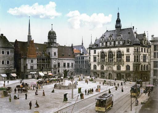 Halle Saale Marktplatz
